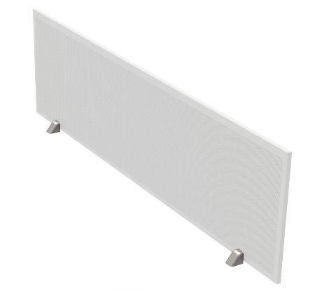 Kerkmann Schallschutz-Tischtrennwand 3754(BxH) 160x45cm für Tische 160/180cm Hellgrau