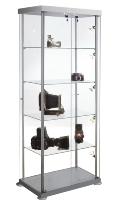 Kerkmann 3761 Glasvitrine EXPOLine rechteckig Maße (BxTxH) 850x425x1800mm