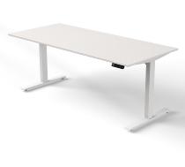 Kerkmann MOVE 3 Steh-/Sitz Schreibtisch 3810 T-Fuß (BxT) 180x80cm elektr. höhenverstellbar Weiß