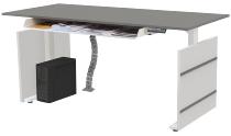 Tisch 180x80 H71-119cm