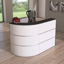 Kerkmann 3850 Design-Theke Cento 1 (BxTxH) 1800 x 800 x 1100 mm