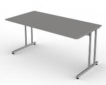 Kerkmann 4345 Schreibtisch start up C-Fuß (BxT) 160x80cm Grafit