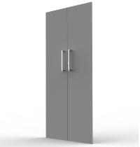 Kerkmann 4455 Vorbautüren 5OH (BxH) 760 x 1760 mm Holz abschließbar Türen Grafit
