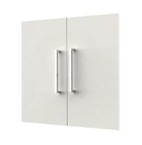 Kerkmann 4546 Vorbautüren-Set 2OH (BxH) 760 x 700 mm abschließbar Weiß