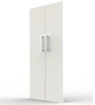 Kerkmann 4548 Vorbautüren-Set 5OH (BxH) 760 x 1760 mm abschließbar Weiß