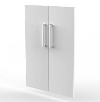 Kerkmann 4610 Vorbautüren-Set 3OH (BxH) 760 x 1040 mm abschließbar Weiß