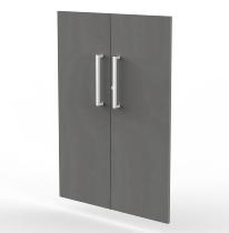Kerkmann 4611 Vorbautüren 3OH (BxH) 760 x 1040 mm Holz abschließbar Türen Grafit