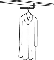 Garderobenstange