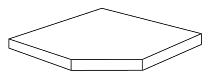Kerkmann 5957 Eckfachboden inkl. Bodenhalter Tiefe 30 cm