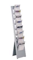 Kerkmann 6358 Prospektständer VITO mit 8 Fächern für A4