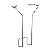 Kerkmann 6941 Prospektfach für DIN-lang aus Stahldraht im 2er-Pack