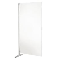 Kerkmann 6967 Stellwand METROPOL Whiteboard Element Weiß (BxH) 800x1750mm