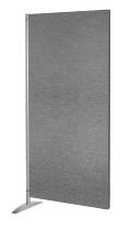 Kerkmann 6976 Sicht-/Schallschutzwand Anbausystem METROPOL II Textilel-Anbauelement Grau