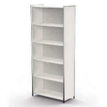 Kerkmann 7347 Einzelregal Artline 5OH (BxTxH) 800 x 380 x 1850 mm Weiß