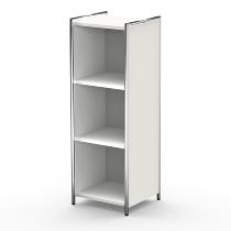 Kerkmann 7405 Highboard Artline 3OH (BxTxH) 410 x 380 x 1150 mm Weiß