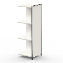 Kerkmann 7407 Anbau-Highboard 3OH (BxTxH) 390 x 380 x 1150 mm Weiß