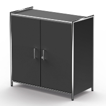 Kerkmann 7934 Sideboard Artline 2OH (BxTxH) 800 x 380 x 780 mm Türen E1 Gütespan Anthrazit