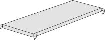 Kerkmann 8417 Fachboden P 500 (TxB) 40 X 96 cm