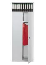 Kerkmann 8435 Vorbautüren Set (2 Stück) für Fachbreite 75 cm Lichtgrau