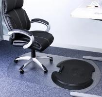 Floortex AFS-TEX 5000s2s Set aus Anti-Ermüdungsmatte u. Bodenschutzmatte für Teppichböden
