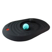 Floortex AFS-TEX Plattform für aktives Stehen FCA2032PBK 50x80cm mit 2 Massagebällen konturiert