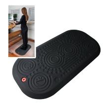 Floortex AFS-TEX Anti-Ermüdungsmatte System 3000x FCA32039XBM für Sitz-/Steharbeitsplätze 50x100cm konturiert