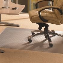 ClearTEX advantagemat Bodenschutzmatte FR1120025EV für Teppichböden 120x200cm Vinyl transparent