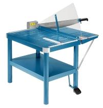 Dahle 580 Atelier Schneidemaschine A2 Schnittlänge 815mm kpl. mit Untertisch Fußpressung