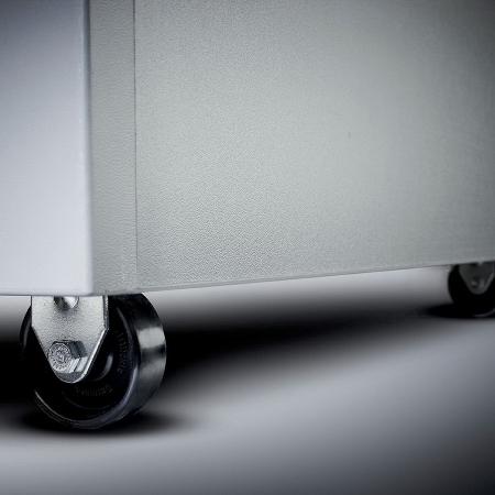 Dahle Aktenvernichter VolumePRO 719 TopSecret Partikel 0,8x4,7mm P-7 Leistung 8 Blatt Eingabebreite 390mm 190l