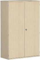Geramöbel Garderobenschrank Pro 10AG410 abschließbar (BxTxH) 1000x425x1536mm Ahorn/Ahorn