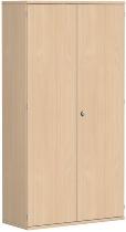 Geramöbel Garderobenschrank Pro 10AG510 abschließbar (BxTxH) 1000x425x1920mm Buche/Buche