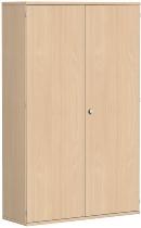 Geramöbel Garderobenschrank Pro 10AG512 abschließbar (BxTxH) 1200x425x1920mm Buche/Buche