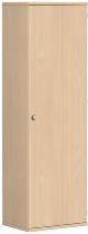 Geramöbel Garderobenschrank Pro 10AGL506 abschließbar (BxTxH) 600x425x1920mm Buche/Buche