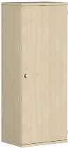 Geramöbel Garderobenschrank Pro 10AGR406 abschließbar (BxTxH) 600x425x1536mm Ahorn/Ahorn