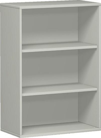 Geramöbel Regal 3OH Serie Pro 10R308 mit 2 Einlegeböden (BxTxH) 800x425x1152mm Ahorn