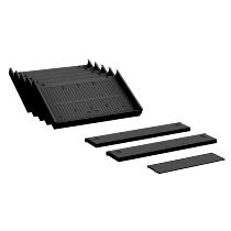 Geramöbel Container Einrichtungs-Set 530900-K für Kunststoff-Schubfächer 8-teilig Material Kunststoff Schwarz