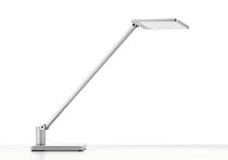 Novus 730+2199 Schreibtischleuchte Attenzia 3.000K complette mit Standfuß Silber