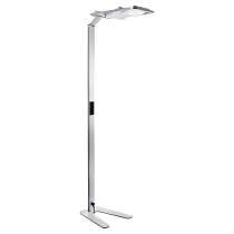 Novus 740+6199 Attenzia Space Active HCL LED Stehleuchte Silber