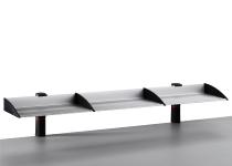 Novus 750+0505 Ablageboard BOARD MASTER einfach 100cm Zwinge anthrazit