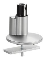 Novus 898+0019 Clu Tischbefestigung (3 in 1) Silber