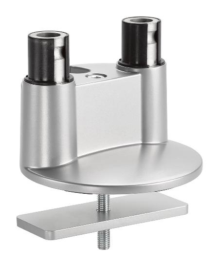 Novus 898+0048+000 Clu Duo Tischbefestigung 3 in 1 KH 10-50mm Schwarz