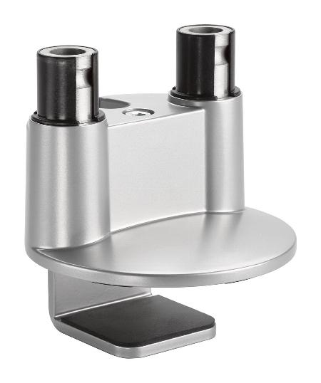 Novus 898+0048+000 Clu Duo Tischbefestigung 3 in 1 KH 10-50mm Silber
