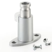 Novus 898+0069 Clu Systemschienenbefestigung Silber