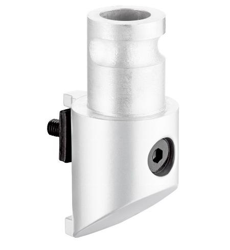 Novus 898+0091 Clu Adapter für Säulen der Serien MY u. TSS Weiss
