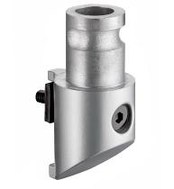 Novus 898+0099 Clu Adapter für Säulen der Serien MY u. TSS Silber