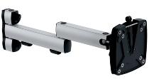 NOVUS 964+0119 TSS Monitor-Faltarm II Monitorhalter Tragkraft bis 10kg VESA 75/100 mit Quickrelease