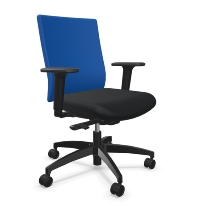 Bürodrehstuhl @Just magic2 operator XS mittelhohe Rückenlehne verkürzter Sitz QS-Mechanik - KOMPLETTANGEBOT