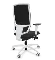 Dauphin @Just evo mesh AJ 5776 white Büro-Drehstuhl (Schnell-Lieferprogramm)