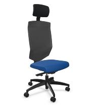 Bürodrehstuhl @Just magic2 mesh XL hohe Rückenlehne Ergo-Nackenstütze - KONFIGURIERBAR