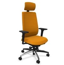 Dauphin Indeed operator ID7048 Bürodrehstuhl hohe Rückenlehne Nackenstütze (Kunststoff-Außenschale) KONFIGURIERBAR